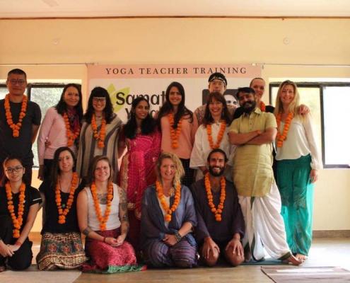 Ausbildung als Yogalehrerin