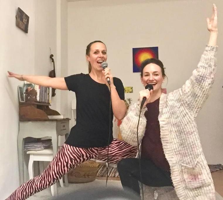 Yoga und Singen